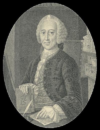 Jacob Langebek (1710-75) Portræt
